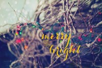 Merry and Bright Fine Art Print
