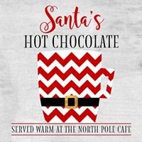 North Pole Cafe Fine Art Print