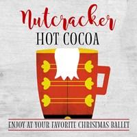 Nutcracker Hot Cocoa Fine Art Print