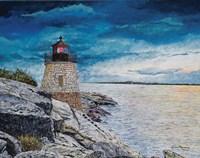 Castle Bay Light Fine Art Print