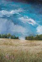 Approaching Storm (no barn) Fine Art Print
