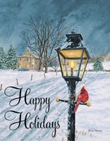Happy Holidays Fine Art Print