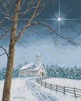 Shining Holiday Star Fine Art Print