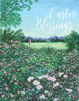 Easter Garden Blessings Fine Art Print