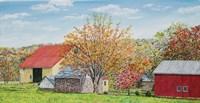 Autumn's Colors Panel Fine Art Print
