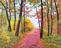 Autumn's Poetry Fine Art Print