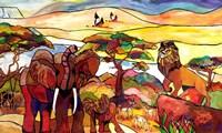 African Serengeti I Fine Art Print