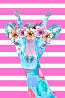 Funky Giraffe Fine Art Print