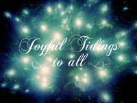 Joyful Tidings Fine Art Print
