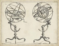 Antique Armillary Spheres Fine Art Print