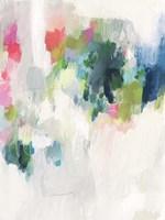 Raspberry & Teal I Framed Print