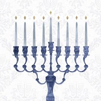 Sophisticated Hanukkah I Fine Art Print