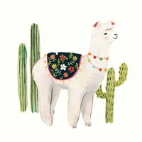 Sweet Alpaca III Framed Print