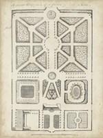 Antique Garden Design V Framed Print