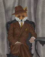 Fox 1930s Gentleman Fine Art Print