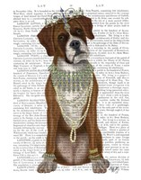 Boxer and Tiara, Full Fine Art Print
