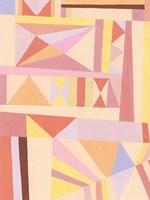 Blush Structure I Fine Art Print