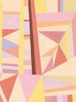 Blush Structure II Fine Art Print
