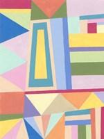 Confetti Structure I Fine Art Print