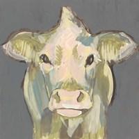 Blush Faced Cow II Framed Print