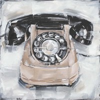 Retro Phone IV Fine Art Print