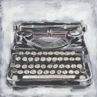 Vintage Typewriter I Fine Art Print