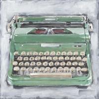 Vintage Typewriter II Fine Art Print