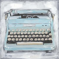 Vintage Typewriter III Fine Art Print
