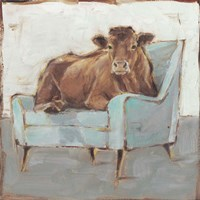Moo-ving In IV Framed Print