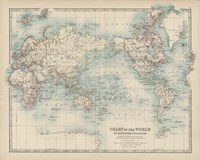 Chart of the World Fine Art Print