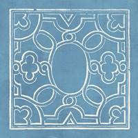 Garden Schematic IV Framed Print