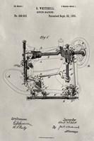 Patent--Sewing Machine Fine Art Print