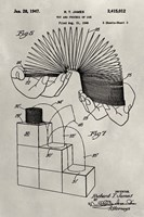 Patent--Slinky Fine Art Print