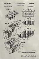 Patent--Lego Fine Art Print