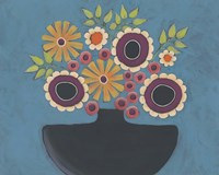 Flowers Galore III Framed Print