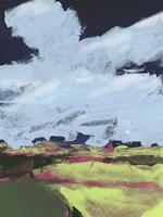 Sherbet Plains I Framed Print
