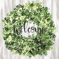 Welcome Wreath II Fine Art Print