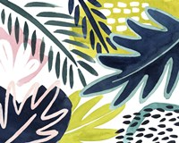 Tropical Salve II Framed Print