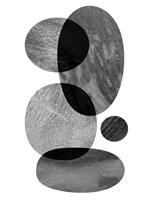 Moving Orbs I Framed Print
