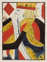Vintage Cards III Framed Print