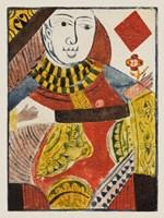 Vintage Cards IV Framed Print