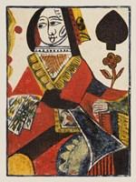 Vintage Cards VI Framed Print
