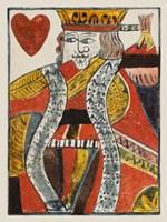 Vintage Cards VIII Framed Print