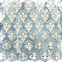 Flower Stone Tile VI Framed Print