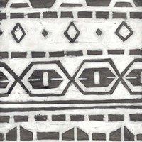 Tribal Textile II Framed Print