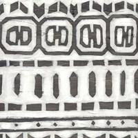 Tribal Textile III Framed Print