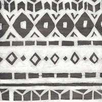 Tribal Textile IV Framed Print