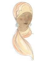 Flapper Fashion Sketches III Framed Print