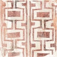 Red Earth Textile V Fine Art Print