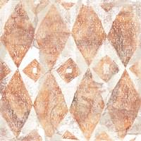 Red Earth Textile VI Fine Art Print